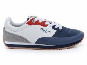 Pantofi sport  PEPE JEANS  pentru copii GARRET SUEDE PBS30353_575
