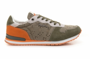 Pantofi sport  PEPE JEANS  pentru femei GABLE ANGLAISE LEAF PLS30507_861