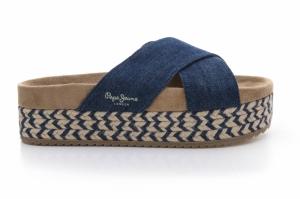 Papuci  PEPE JEANS  pentru femei RODEO DENIM PLS90229_559