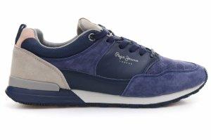 Pantofi sport  PEPE JEANS  pentru barbati BOSTON LEATHER LIGHT PMS30340_595