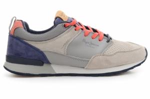 Pantofi sport  PEPE JEANS  pentru barbati BOSTON LEATHER LIGHT PMS30340_915