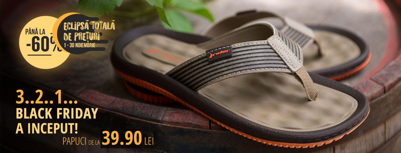 papuci pentru bărbați: