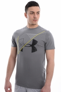 Tricou  UNDER ARMOUR  pentru barbati WARPED ROUTE SHORT SLEEVE 1314405_709