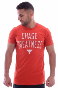 Tricou  UNDER ARMOUR  pentru barbati PROJECT ROCK CHASE GREATNESS SS T 1326383_839