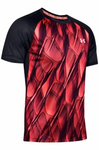 Tricou  UNDER ARMOUR  pentru barbati M QUALIFIER ISO-CHILL PRINTED SHORT 1350133_628