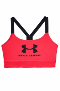 Bustiera  UNDER ARMOUR  pentru femei ARMOUR MID SPORTSTYLE GRAPHIC BRA 1351998_628