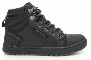 Ghete  SKECHERS  pentru copii DIRECT PULSE- CITY CLIQUE 94121L_BLK