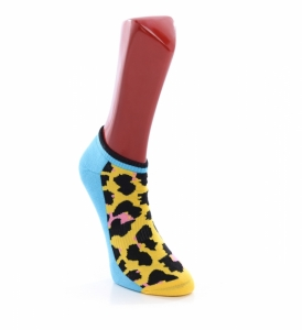Sosete  HAPPY SOCKS  unisex ATHLETIC LEOPARD LOW SOCK ATLEO05_2000