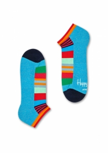 Sosete  HAPPY SOCKS  unisex ATHLETIC MULTI STRIPE LOW SOCK ATMST05_6700