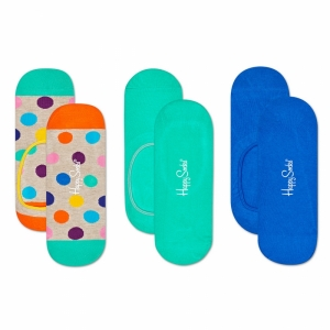 Sosete  HAPPY SOCKS  unisex 3-PACK BIG DOT LINER SOCK BDO18_1700