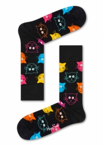 Sosete  HAPPY SOCKS  unisex CAT SOCK MJA01_9001