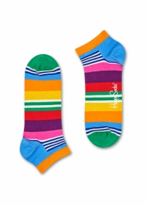 Sosete  HAPPY SOCKS  unisex MULTI STRIPE LOW SOCK MST05_3000